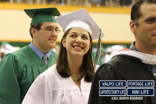 Graduates at VHS Graduation Ceremony 2010