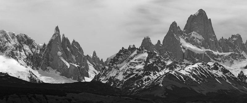 Cerro Torre and Cerro Fitz Roy