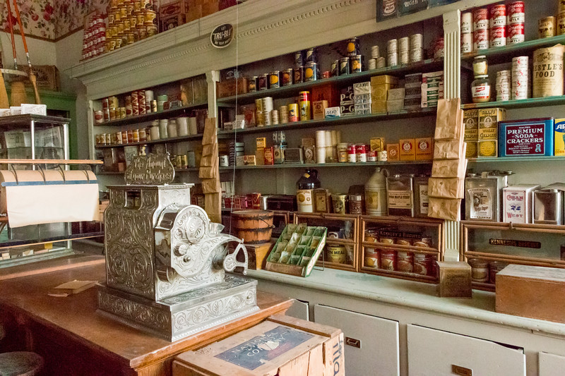 Grocery - S.R. Buford Store (interior)