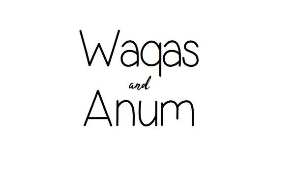 Waqas and Anum