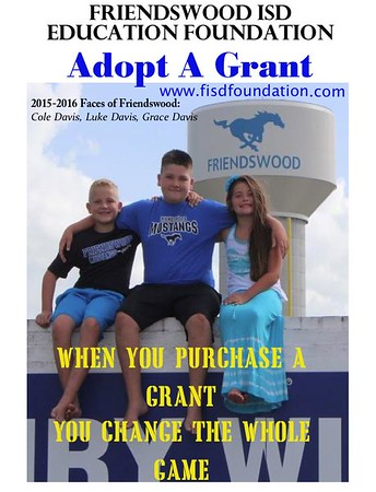 Faces of Friendswood- FEF Adopt a Grant
