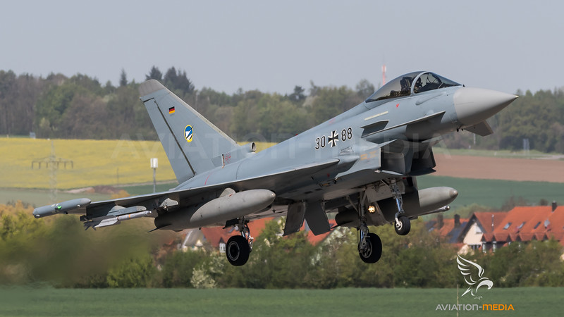 German Air Force TLG74 / Eurofighter Typhoon / 30+88