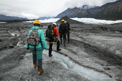 Ice Climbing with Sam and C.J.