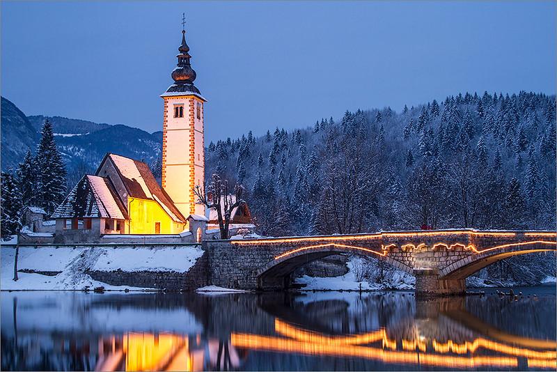 Ribčev Laz - St. John the Baptist church