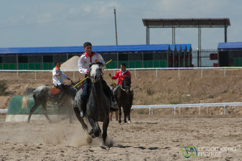 Cirit Played at the World Nomad Games, Kyrgyzstan