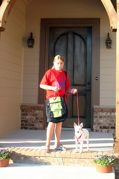 20060906 First Day of School from New House - 4th Grade