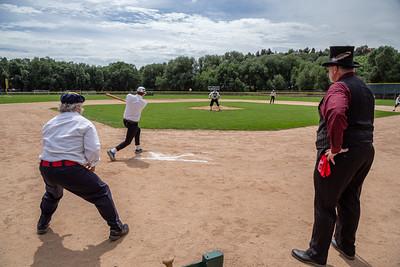 Vintage Baseball Manitou vs Canon City