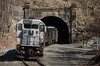 New Jersey Transit (on Metro-North)<br /> Otisville Tunnel, Otisville, New York<br /> April 12, 2014