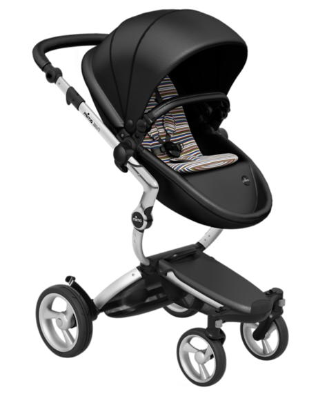 Mima_Xari_Product_Shot_Black_Flair_Aluminium_Chassis_Autumn_Stripes_Seat_Pod.png