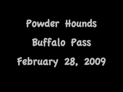 Buffalo Pass Ski Videos