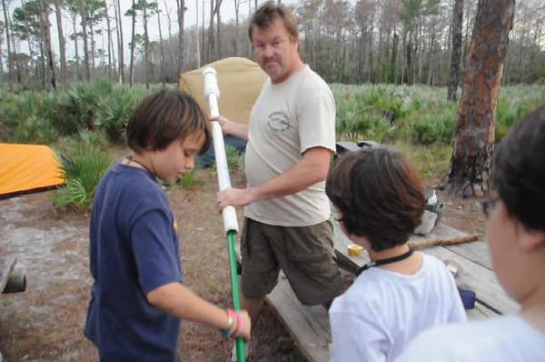 2009 December 12 Scout Camping JD Park 187.avi