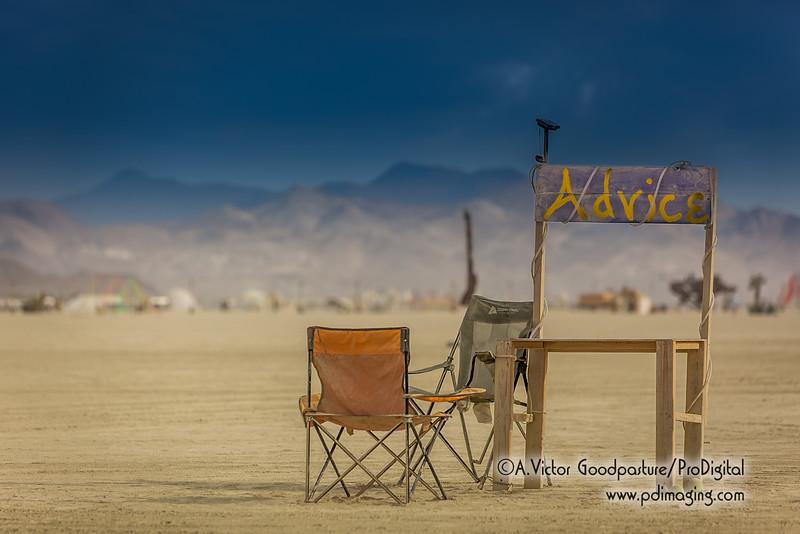 My advice? Go to Burning Man and be amazed!