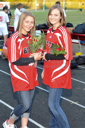 2011-10-25 BHS Soccer VS Independence - Senior Night