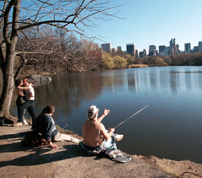 Fish and Romance - Central Park, New York City