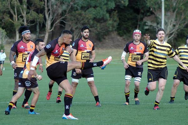 Round 5: Upper Hutt Rams (39) v Wellington (13)