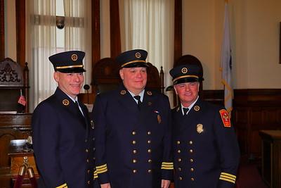 Brockton Fire Deputy Chief Swearing In Ceremony