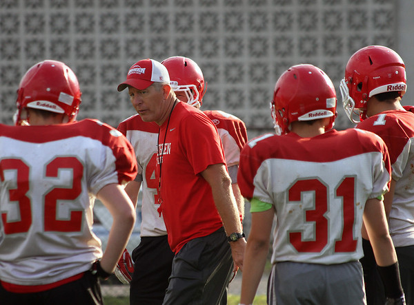 Goshen Football Practice