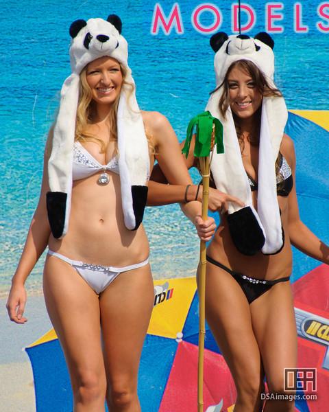 Beachwear parade presented by Fox Models