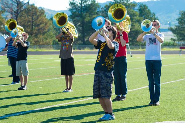 2013 CVHS Band Morning Rehearsal