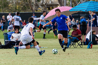 2018-11-23 Hayden Playing Soccer in San Diego