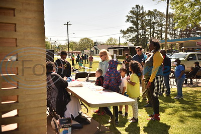 Texas African American hosts first-ever egg hunt