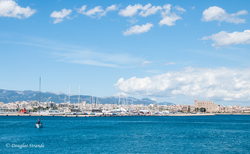 Palma, Mallorca waterfront
