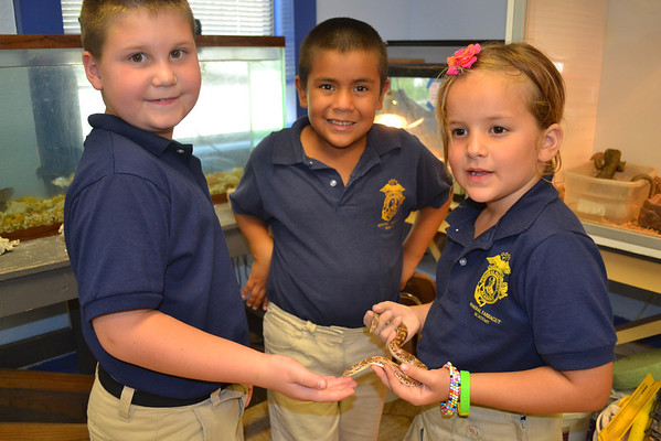 1st Grade visits the Science Lab