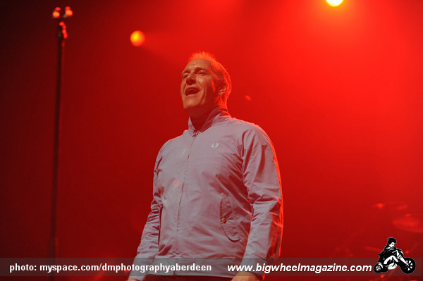 The Skids - at The Alhambra Theatre - Dunfermline, UK - March 6, 2010