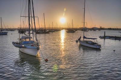 San Diego Harbor Evening