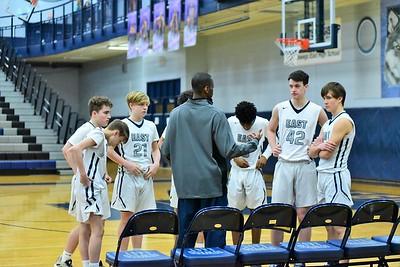 OE boys basketball Soph. B Vs Yorkville 2020
