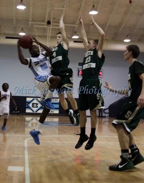 Mens Basketball v South Johnston 1-11-13