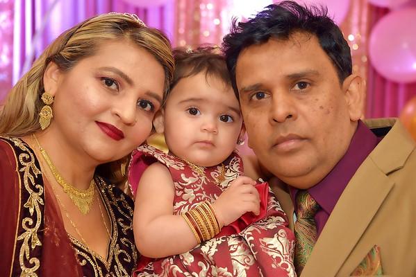 Princess Rumaisa Fatima's 1st Birthday