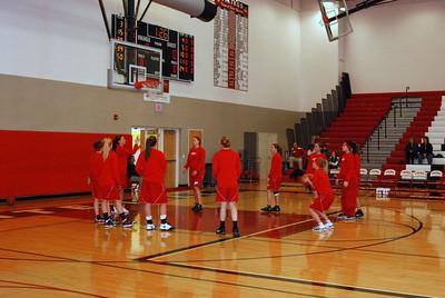 Girls Varsity Basketball - 2009-2010 - 3/1/2010 Districts Newaygo JG