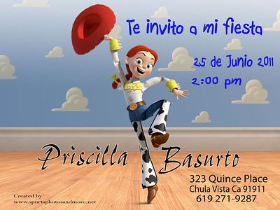 Priscilla Bday Card