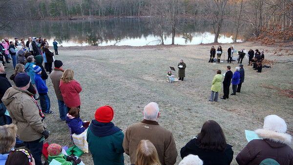 Bedford Easter Sunrise Service - 2013