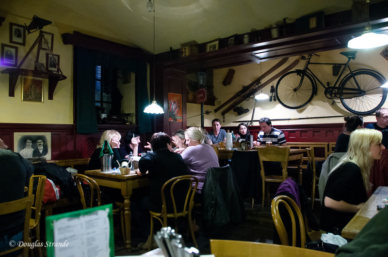Ztraty Nalez Restaurant interior