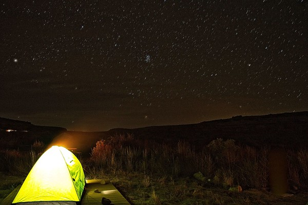 Camping in Chaco
