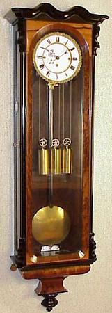 VR-248 - Biedermeier Austrian week-duration granne-sonnerie Vienna Regulator