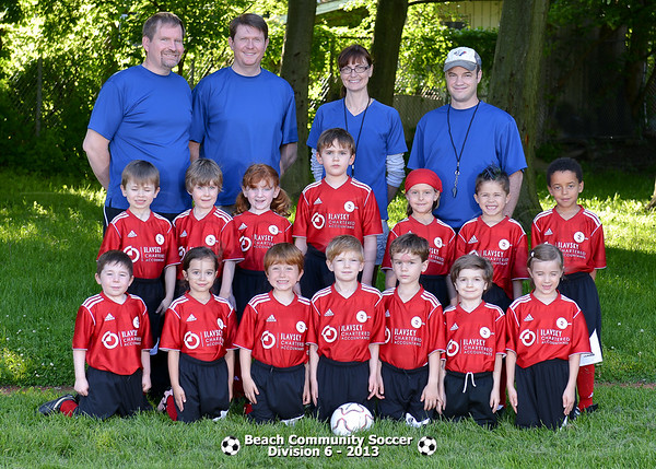 Division 6 - Team pictures
