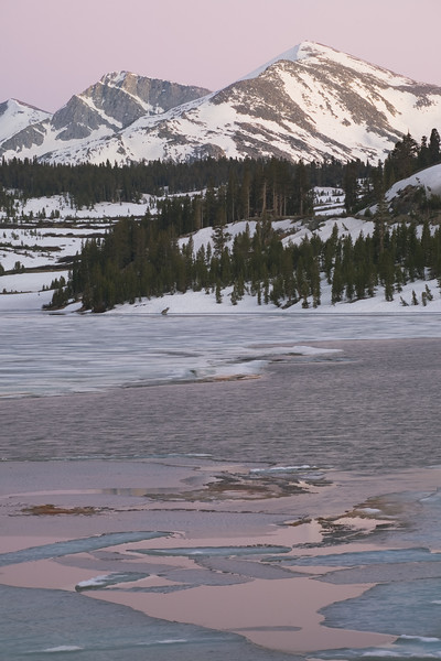 Twilight on Mammoth Peak