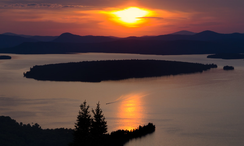 Mooselookmeguntic Lake, Rangeley, Maine (63401)