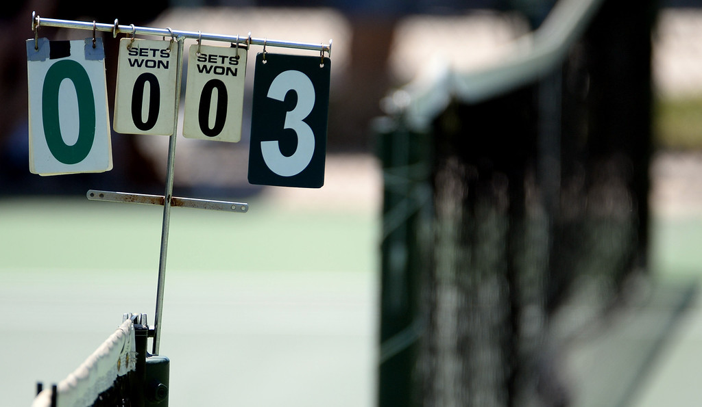 . San Marino\'s against University\'s (Irvine) during the CIF State Tennis Championship at the Claremont Club in Claremont, Calif., on Saturday, May 31, 2014.  (Keith Birmingham/Pasadena Star-News)