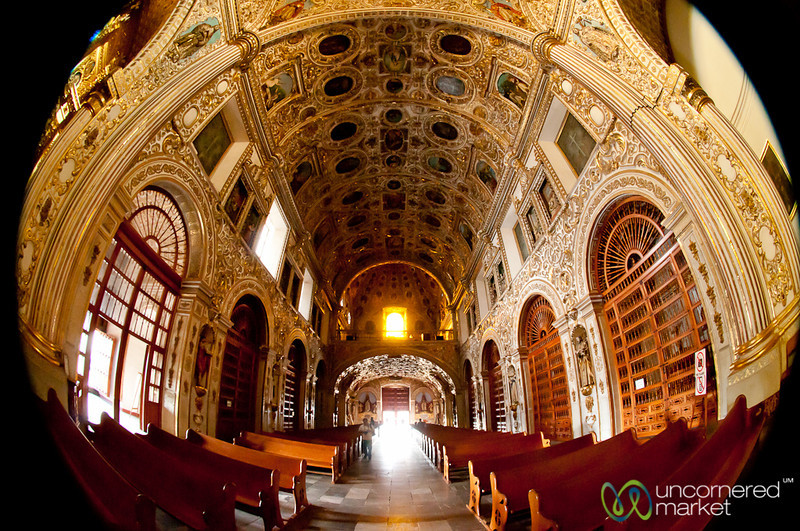 Santo Domingo de Guzmán Church - Oaxaca, Mexico