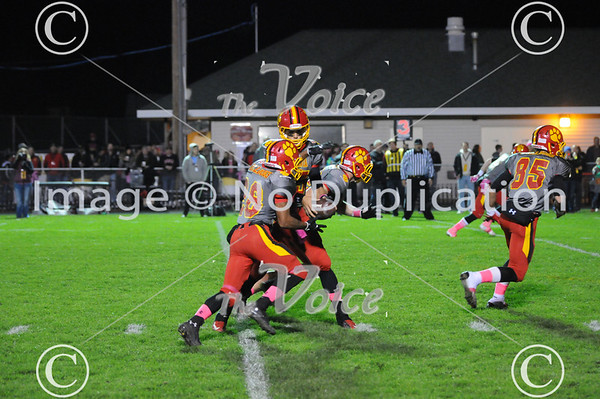 St. Charles East High School Football at Batavia High School in Batavia, Ill 10-18-13