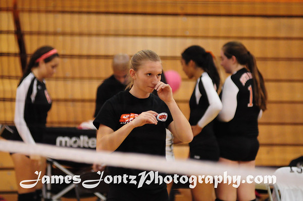 2012 Volleyball vs Temple City