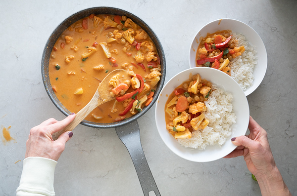 Two peas curry