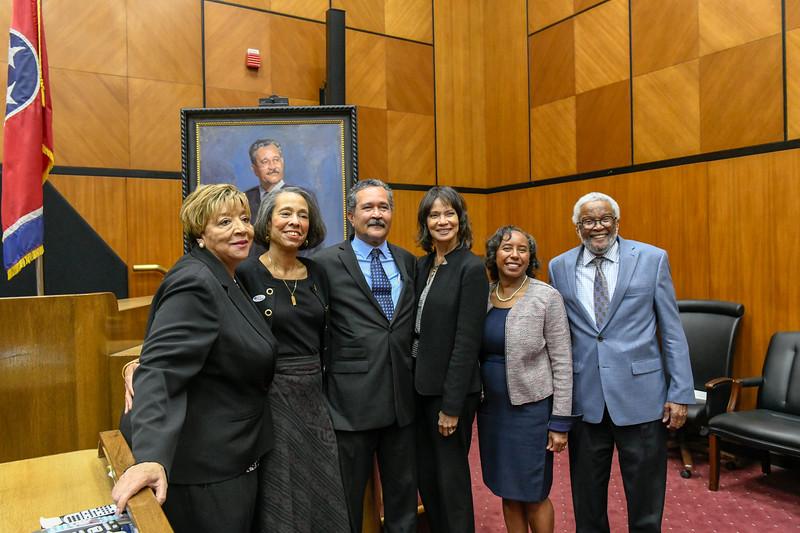 Haynes Portrait Unveiling 2018