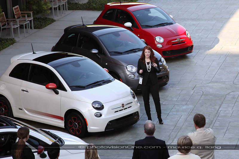 Nicole Longhini, Fiat Brand Manager, speaks about the new Abarth and Fiat's plans for the U.S.