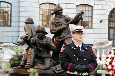 Mass Fallen Firefighter Memorial - Oct. 19, 2015