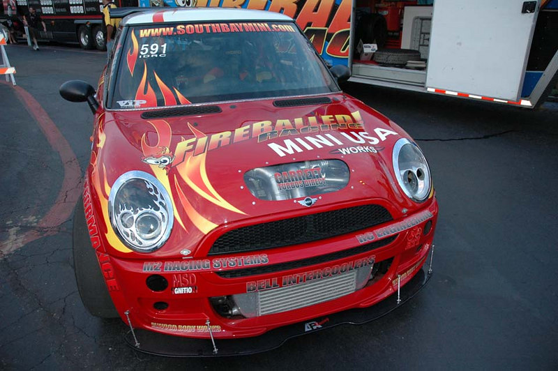 This MINI claims over 400 horsepower!
